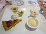 Regional dessert selection